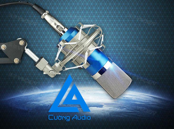 Micro thu âm BM 800 chuyên nghiệp giá rẻ lọc âm tại nhà