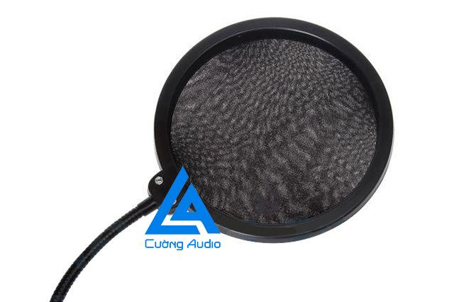 Pop filter - Màng lọc âm thanh giá rẻ, phụ kiện nên có cho bộ micro thu âm