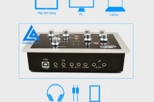 Sound card HF-5000 Pro hát karaoke, auto tune chất lượng bất ngờ