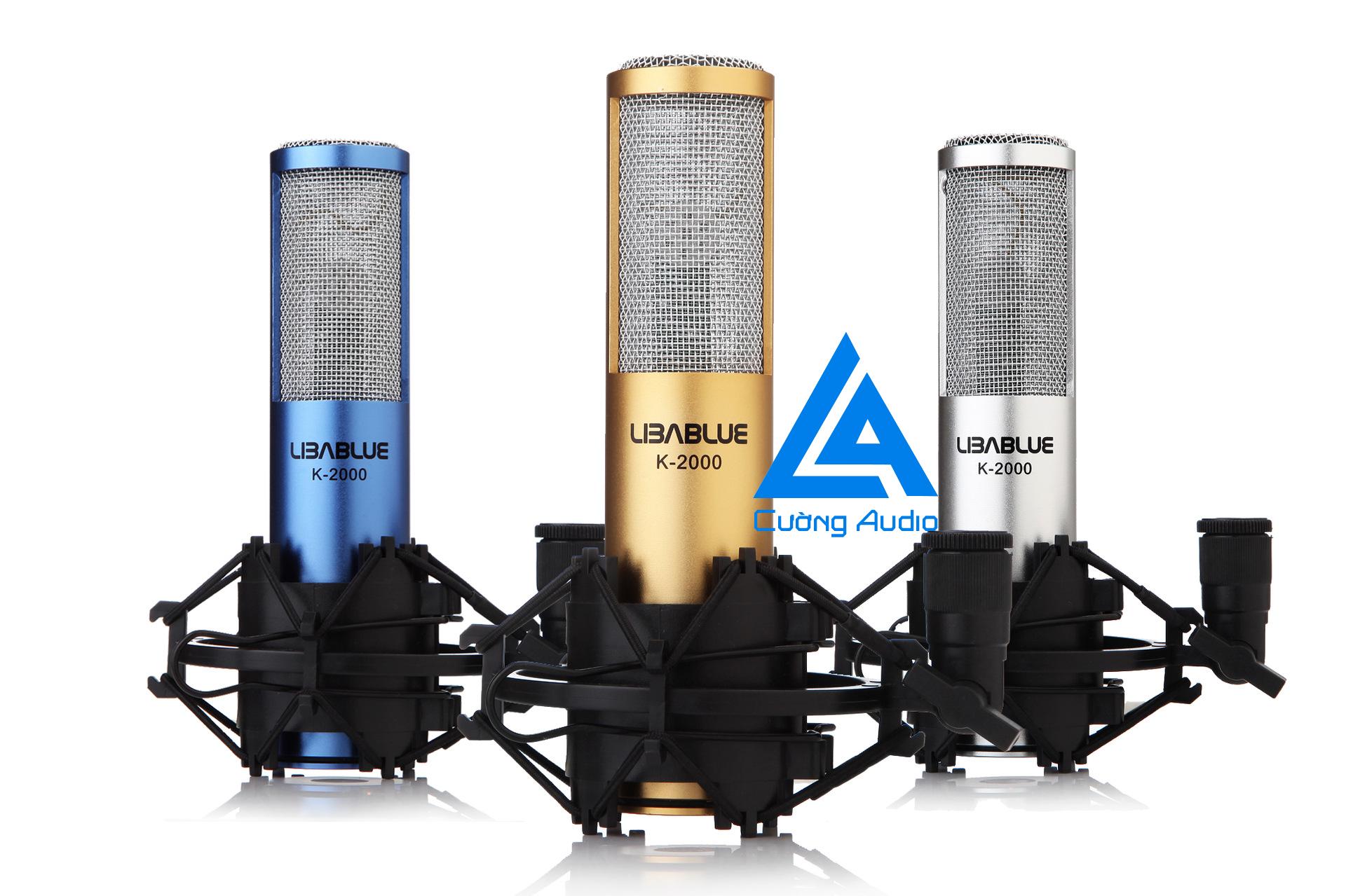 Micro thu âm LIBABLUE K-2000 chất lượng giá rẻ cho sinh viên tầm trung