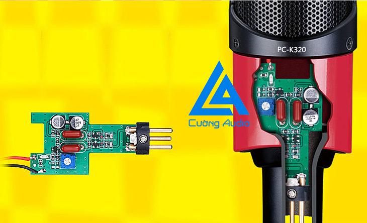 Micro thu âm Takstar PC K320 phiên bản nâng cấp hoàn hảo