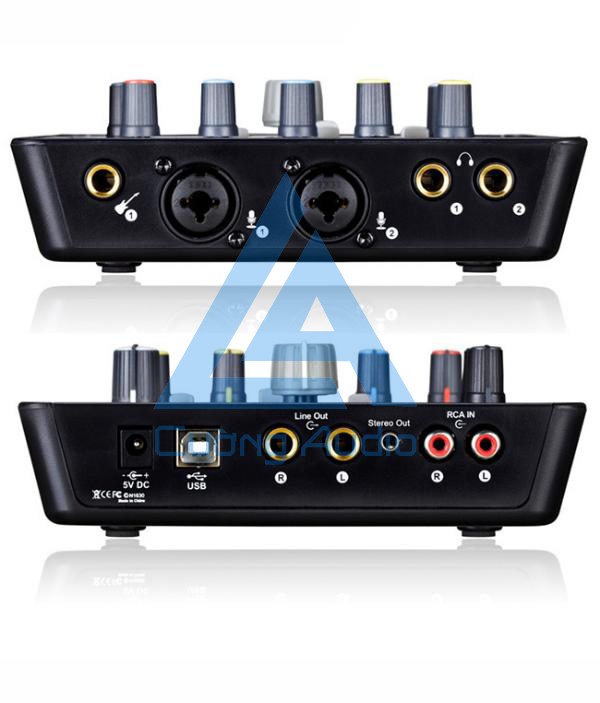 Sound card Icon Upod Pro phục vụ hát live stream, hát karaoke hấp dẫn