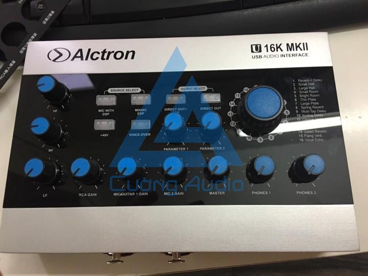 Sound card Alctron U 16K MKII live stream, karaoke tuyệt đỉnh - bỏng bảy