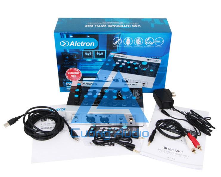 Sound card Alctron U16K MKII live stream, karaoke tuyệt đỉnh - bỏng bảy