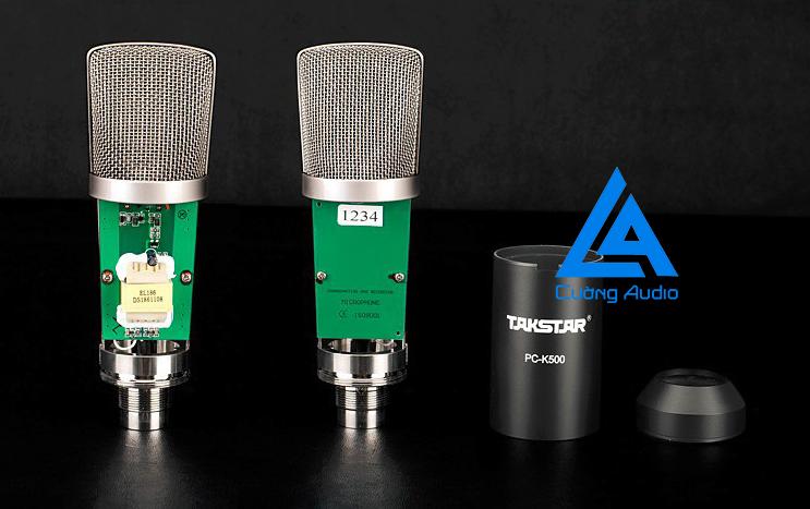 Micro thu âm TakStar PC K500 âm thanh chuẩn chuyên nghiệp