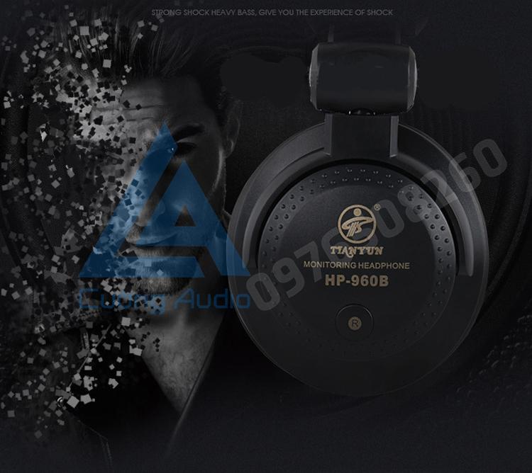 Tai nghe kiểm âm TIANYUN HP 960B một siêu phẩm đầy cạnh tranh