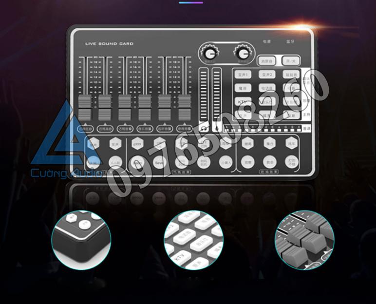 Sound Card H9 Bluetooth Có AutoTune Cùng Các Chế Độ Méo Tiếng