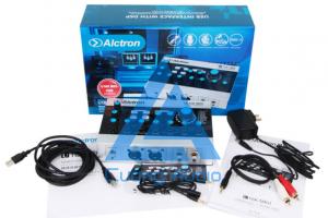 Sound card Alctron U16K MKII live stream, karaoke tuyệt đỉnh - bóng bảy